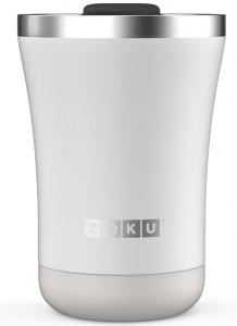 Термокружка Zoku 350 ml белая