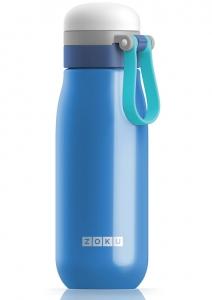 Бутылка вакуумная из нержавеющей стали 500 ml синяя