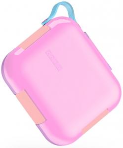 Ланч-бокс Neat Bento 23X22X6 CM розового цвета
